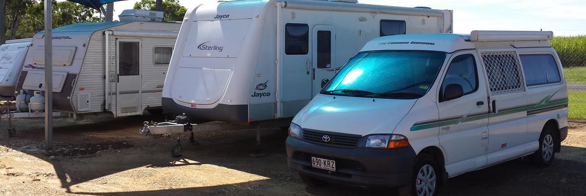RV hire at Fraser Caravans